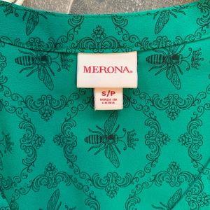 Merona Tops - Merona Queen Bee Popover Blouse